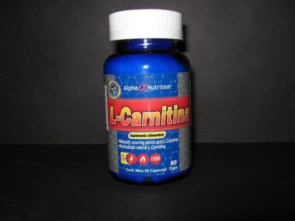 Carnitina Pastillas Alpha Nutrition