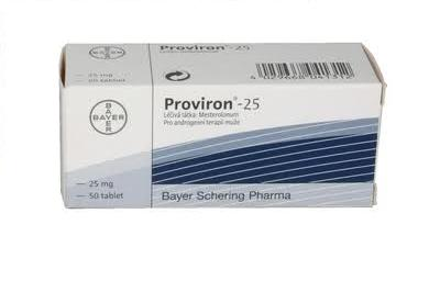 Proviron 25mg 10 tabs - Bayer
